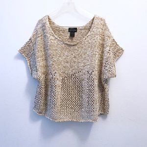 Torn By Ronny Kobo Sweater Knit Crop Top